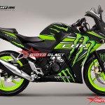 CBR150R LOKAL BLACK MONSTER motoblast