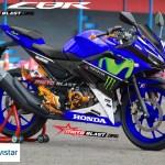all new CBR150R MOVISTAR motoblast