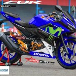 all new CBR150R MOVISTAR motoblast