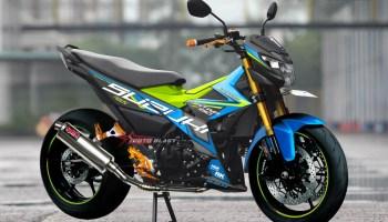Gambar Modifikasi Satria Fu Thailand Hot Full Modifikasi Suzuki Satria Fu 150 Fi