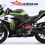 YAMAHAR25- BLACK spesial edition motoblast