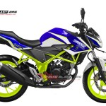 NEW CB150R WHITE TRIUMPH DRIFT BATTLE 1
