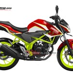NEW CB150R WHITE TRIUMPH DRIFT BATTLE 2