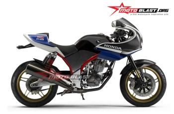 HOT 6 Modifikasi Honda TIGER 2000 menjadi Cafe Racer Retro, Inspirasi buat gaya baru masbroo
