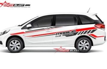 Graphic kit Honda Mobilio white