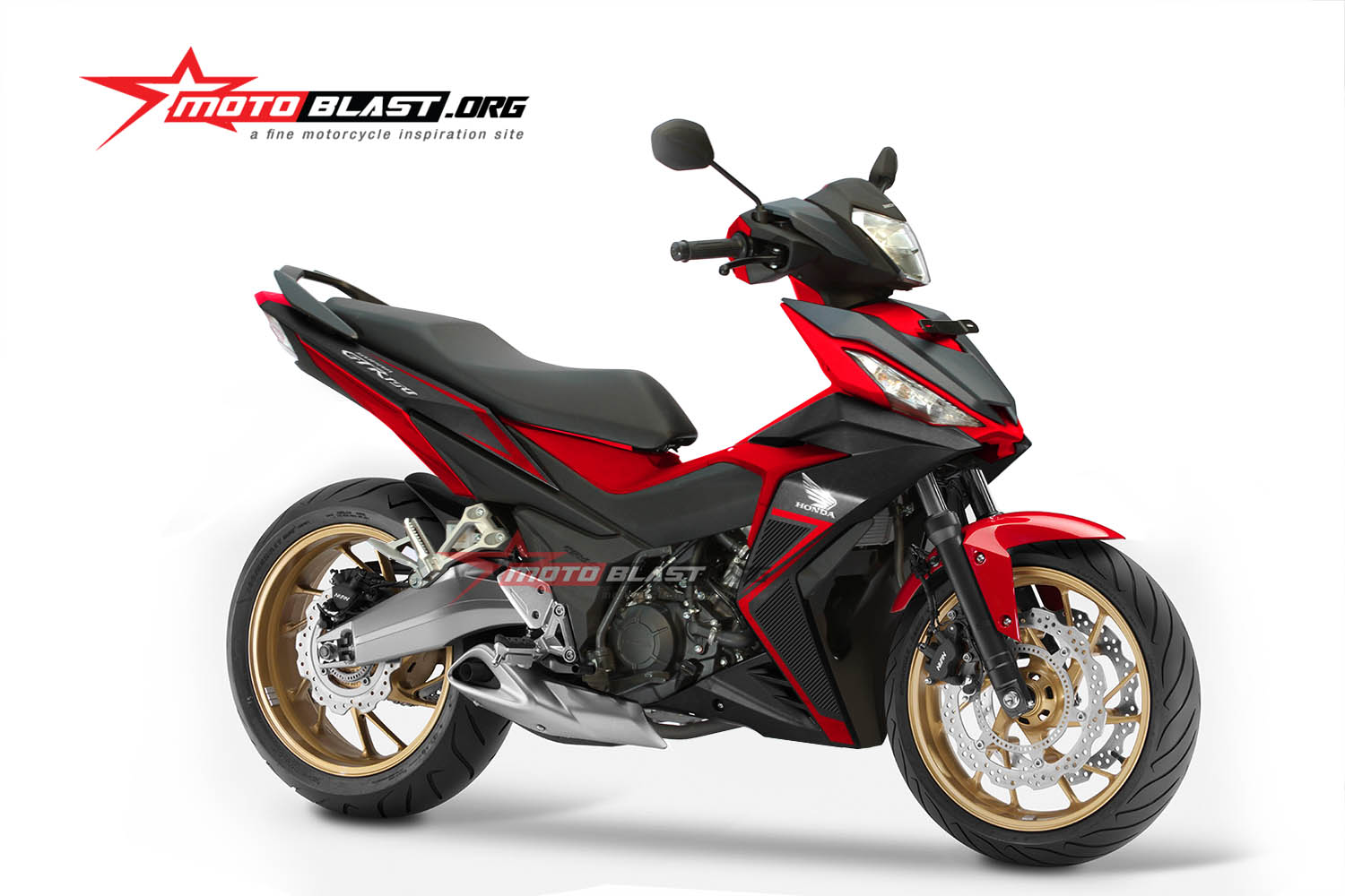 HOT Perdana Modifikasi Honda Supra GTR 150 Big Foot Racing