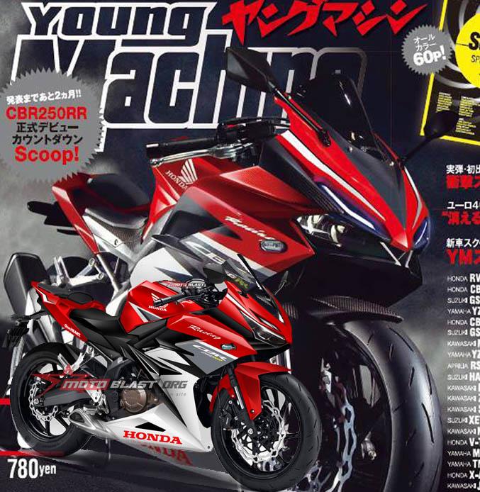 cbr250rr young machine-MOTOBLAST