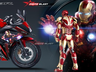 ALL NEW CBR150R RED IRONMAN3