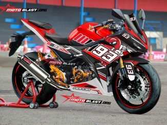 CBR150R BIG RED MM93 PROJECT