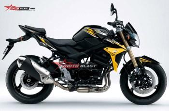 Graphic Kit Moge Series Suzuki GSX750 Black