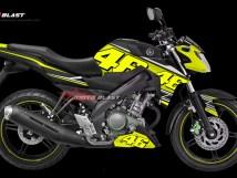 Graphic Kit Yamaha NVA Black VR46