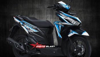 Modif Striping Honda Vario 150 Esp Black Hulk Motoblast