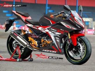 2 CBR150R BLACK RED FIRMANSYAH