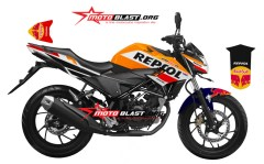 2 NEW CB150R BLACK REPSOL-2016