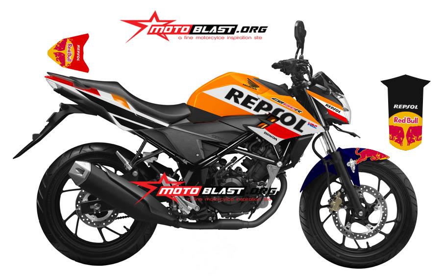 2 NEW CB150R BLACK REPSOL-2016