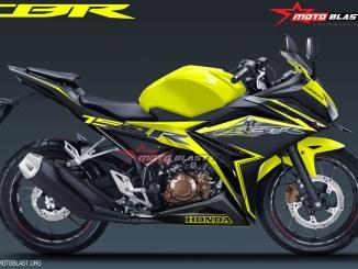 ALL NEW CBR150R SPECIAL EDITION YELLOW MOTOBLAST