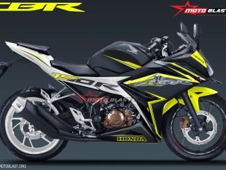 ALL NEW CBR150R SPECIAL EDITION YELLOW MOTOBLAST-NEW