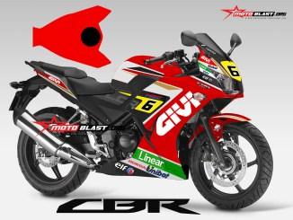 CBR250R RED GIVI STEFAN BRADL-2