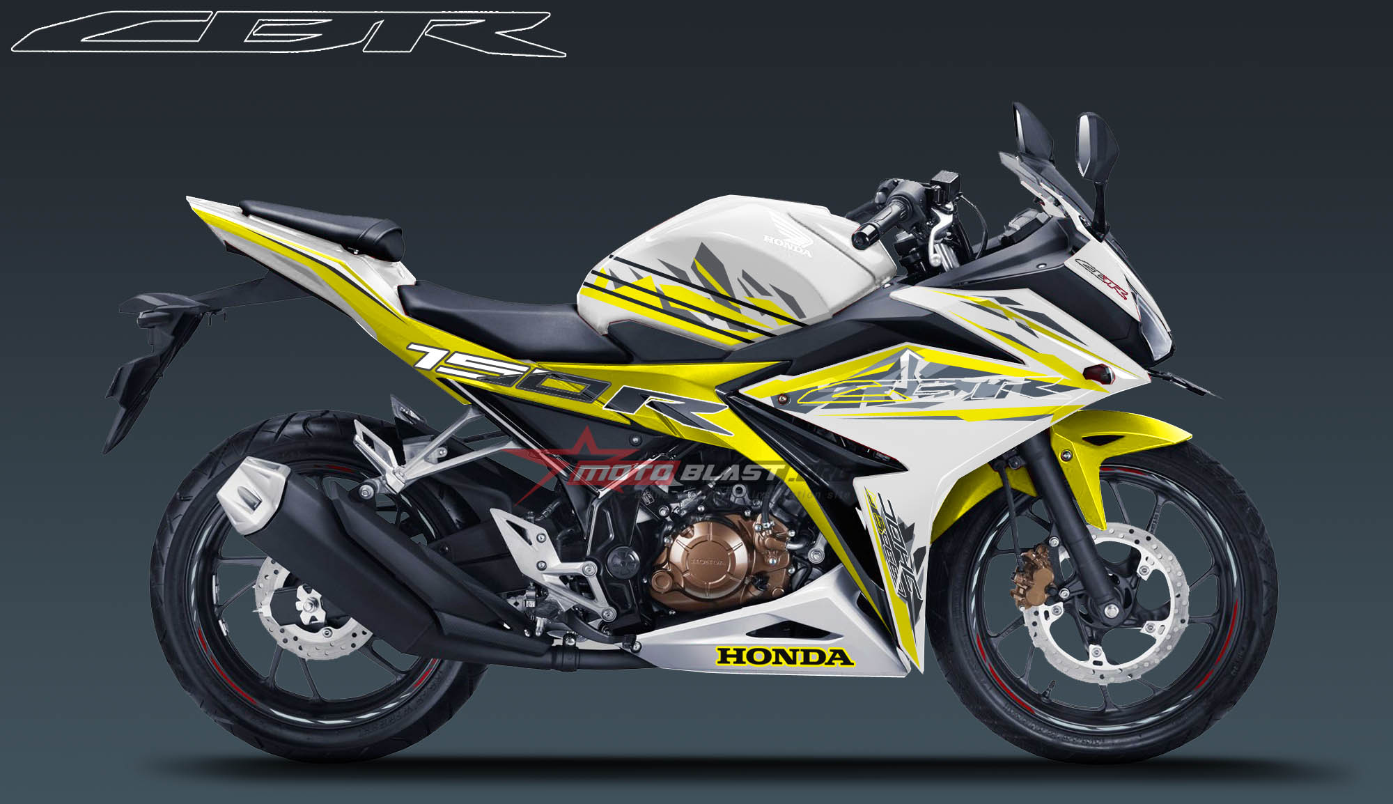 modifikasi striping all new cbr150r image gallery - hcpr