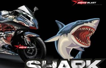 Modifikasi Striping Kawasaki Ninja 250R Fi SHARK New