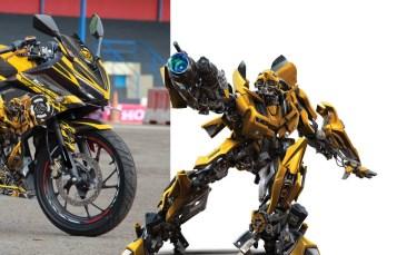 Modifikasi Motor Terbaru Honda New CBR150R Black Bumble Bee! Monyorr tenan broo