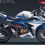 ALL NEW CBR150R SPECIAL EDITION MOTOBLAST-white blue