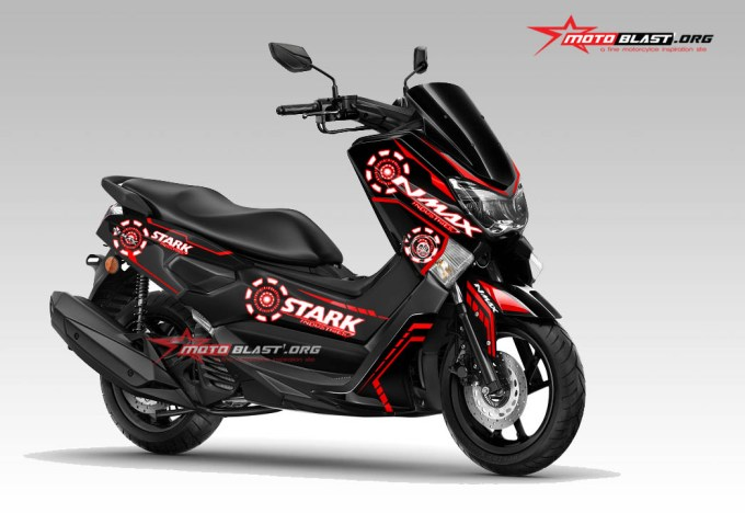 nmax-black-stark-industries-red