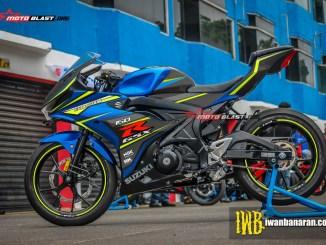 GSX-R150 - BLUE SPORTY
