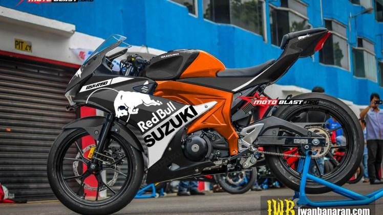 GSX-R150 - KTM REDBULL BLACK