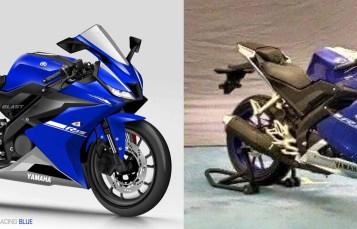 Kompare Seberapa mirip sih Renderan Motoblast dengan real Yamaha R15 facelift 2017 ??