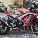 Testimonial Kawasaki Ninja 250R Red Optimus Prime