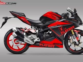 7CBR250RR PLAYBOY DOFF BLACK-red2
