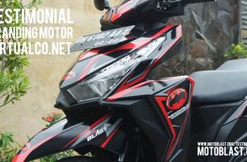 Modifikasi Honda Vario 125Esp Black Batman untuk Virtualco.net, elegan menjadi sangarrr!