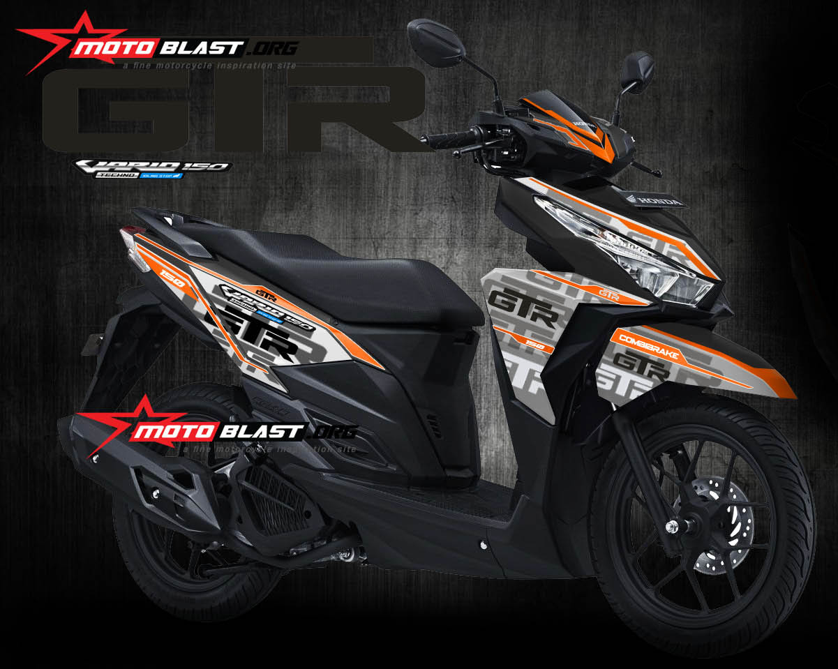 Download Koleksi 70 Modifikasi Motor Honda Vario 150 Esp Terlengkap