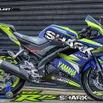 ALL NEW R15 BLUE SHARK