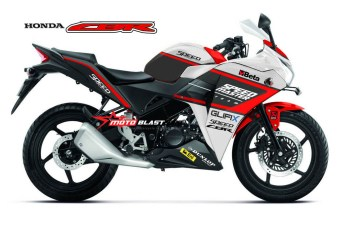 Modifikasi striping Honda CBR150R Thailand Speed
