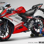 R15 NEW 2017- RED DUCATI TRICOOR
