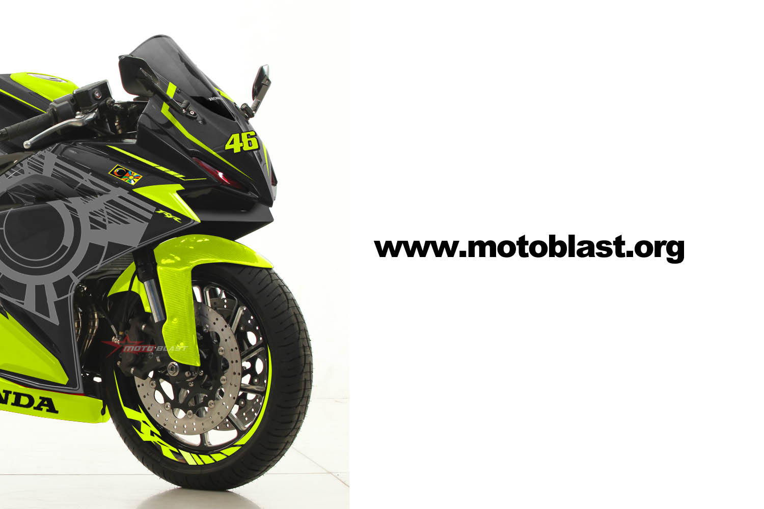 modifikasi striping honda  cbrrr black sunmoon