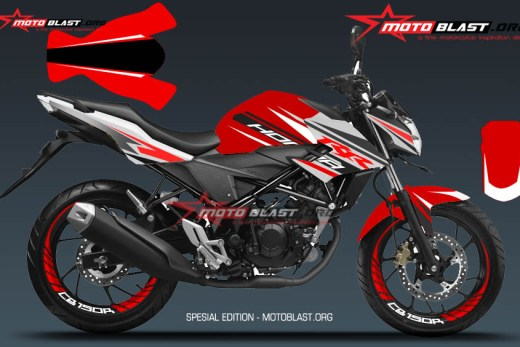 1 NEW CB150R RED SPORTY