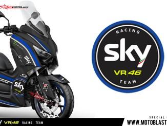 XMAX 250 - SKY VR46 RACING TEAM2