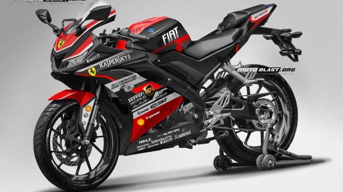 6 14082017 R15 V3 FERRARI BLACK RED