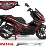 NEW PCX 150-black edition carbon2