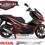 NEW PCX 150-black edition carbon3
