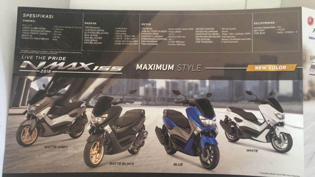 yamaha  nmax  facelift  resmi  rilis