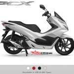 foto studio warna NEW PCX 150-WHITE