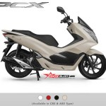 foto studio warna NEW PCX 150-milk