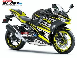 Kawasaki Ninja 250R 2018- YELLOW RC