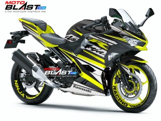 Kawasaki Ninja 250R 2018- YELLOW RC