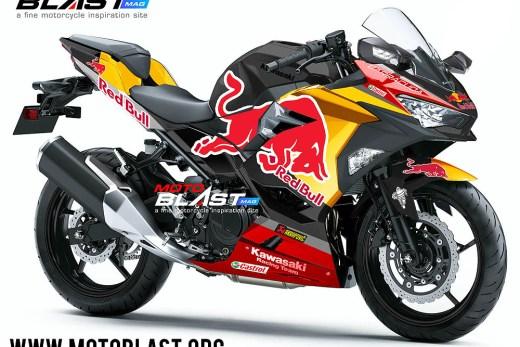 Kawasaki Ninja 250R 2018-redbull black2