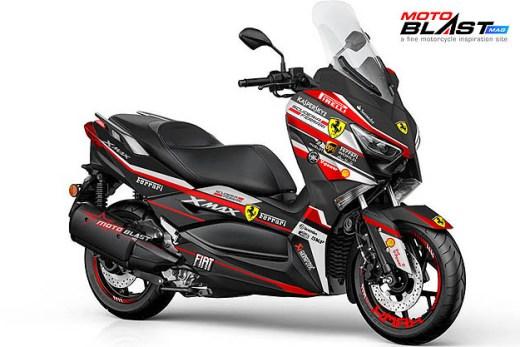 XMAX 250 - FERRARI-black2